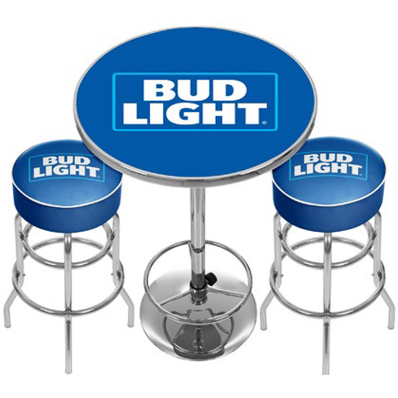 Custom Game Room Combo U2013 Personalize 2 Bar Stools U0026 Pub Table